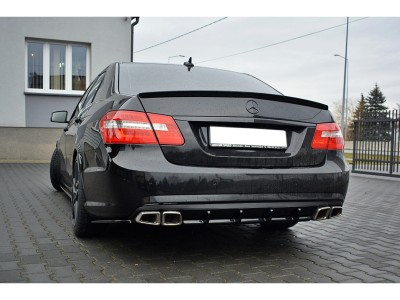 Mercedes E-Class W212 E63 AMG MX Rear Bumper Extension