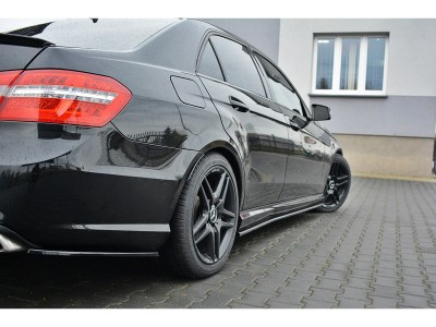 Mercedes E-Class W212 E63 AMG MX Side Skirts