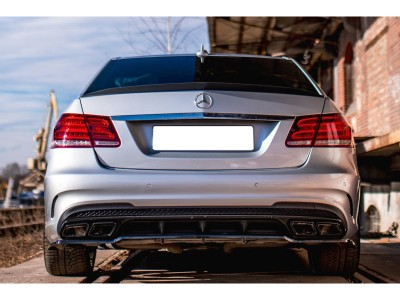 Mercedes E-Class W212 E63 AMG Matrix Rear Bumper Extension