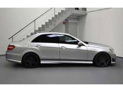 Mercedes E-Class W212 Exclusive Side Skirts