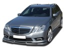 Mercedes E-Class W212 V2 Front Bumper Extension