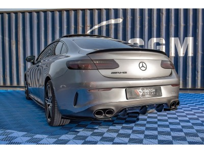 Mercedes E-Class W213 AMG E53 MaxStyle Rear Bumper Extension