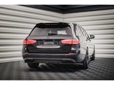 Mercedes E-Class W213 Matrix Rear Bumper Extension