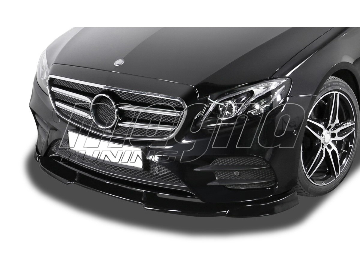 Mercedes E-Class W213 V2 Front Bumper Extension