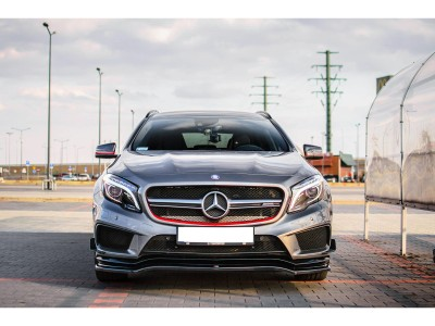 Mercedes GLA X156 45 AMG MX Front Bumper Extension