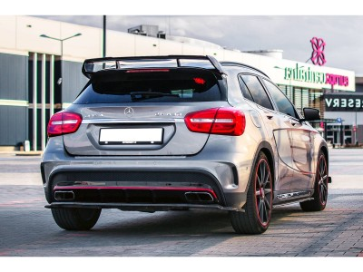 Mercedes GLA X156 45 AMG MX Rear Bumper Extension