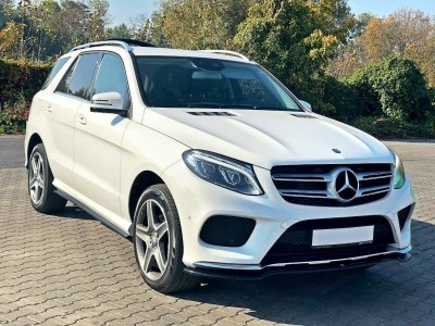 Mercedes GLE-Class SUV W166 MX Front Bumper Extension