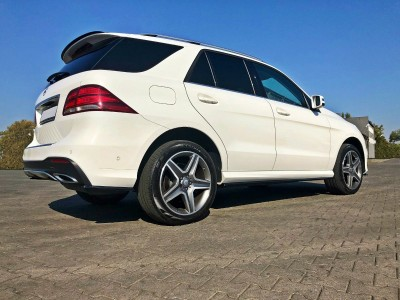Mercedes GLE-Class SUV W166 MX Side Skirt Extensions