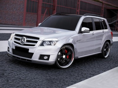 Mercedes GLK-Class X204 MX Front Bumper Extension