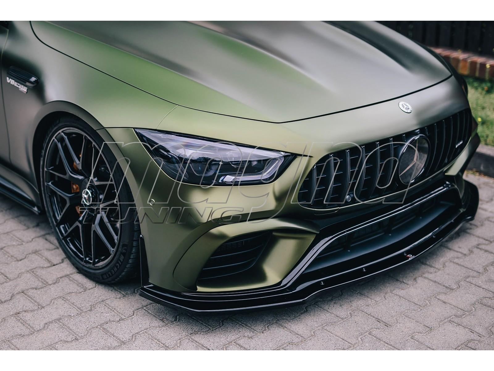 Mercedes GT 4-Door Coupe MX Front Bumper Extension