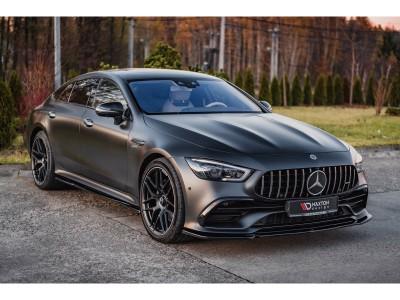 Mercedes GT 4-Door Coupe Matrix Front Bumper Extension