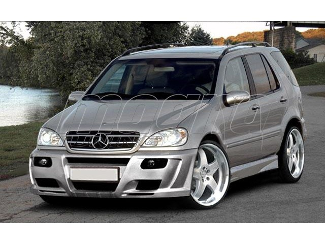mercedes ml w163 bsx body kit. Black Bedroom Furniture Sets. Home Design Ideas