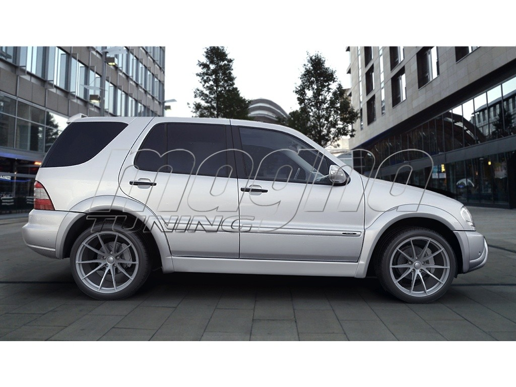mercedes ml w163 sigma wheel arch extensions. Black Bedroom Furniture Sets. Home Design Ideas