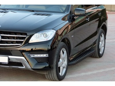 Mercedes ML W166 AMG H2-B Running Boards