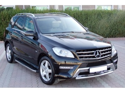 Mercedes ML W166 AMG H2 Running Boards