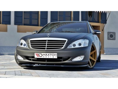 Mercedes S-Class W221 MX Front Bumper Extension