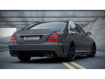 Mercedes S-Class W221 W205-Look Rear Bumper