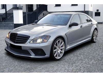 Mercedes S-Class W221 Wide Body Kit Black-Line