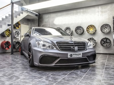 Mercedes S-Class W221 Wide Body Kit P2