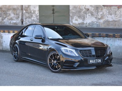 Mercedes S-Class W222 MX Front Bumper Extension