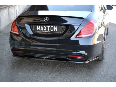 Mercedes S-Class W222 MX Rear Bumper Extension