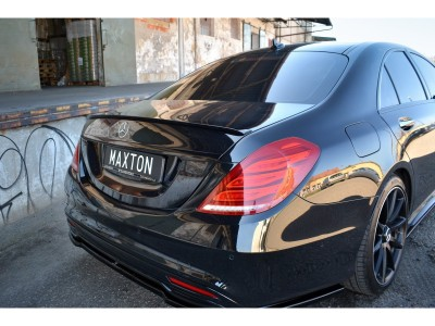 Mercedes S-Class W222 MX Rear Wing Extension