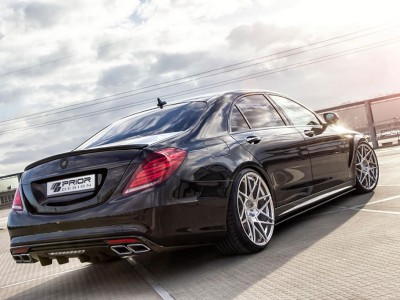 Mercedes S-Class W222 Proteus Rear Bumper Extension