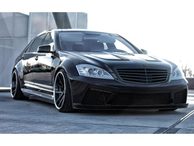 Mercedes S-Klasse W221 Proteus Wide Body Kit