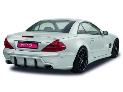 Mercedes SL R230 Crono Rear Bumper Extension