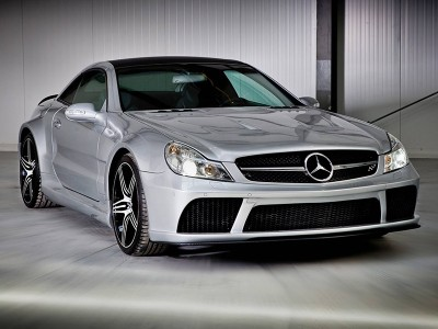 Mercedes SL R230 Facelift Black-Edition Wide Body Kit
