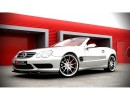 Mercedes SL R230 MX Front Bumper Extension