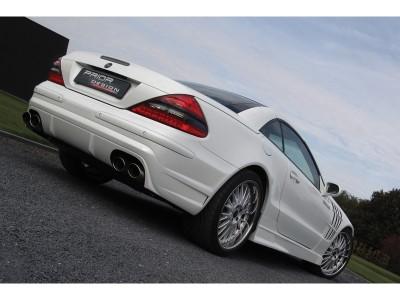 Mercedes SL R230 PR Heckstossstange