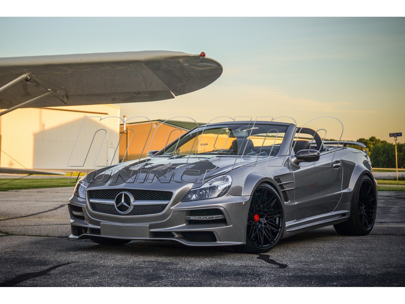 Mercedes Sl  Body Kit