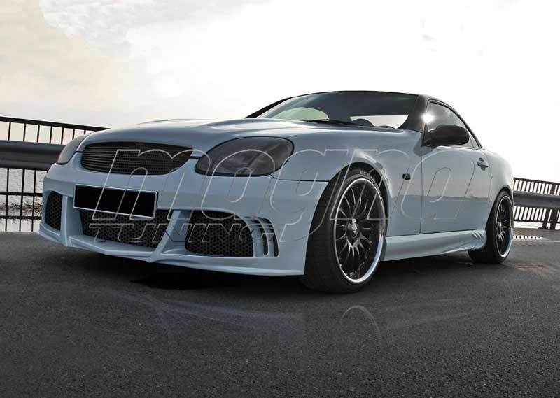 mercedes slk r170 exclusive body kit. Black Bedroom Furniture Sets. Home Design Ideas