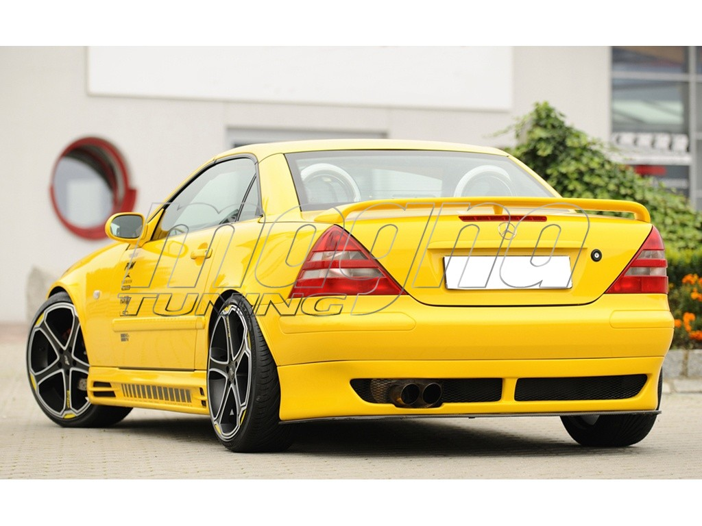 mercedes slk r170 recto rear bumper extension. Black Bedroom Furniture Sets. Home Design Ideas