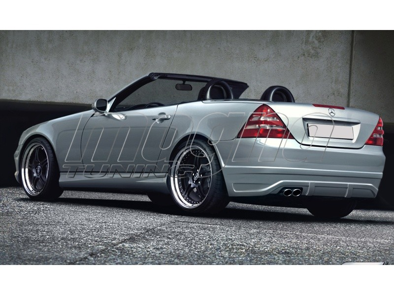 mercedes slk r170 sx rear bumper. Black Bedroom Furniture Sets. Home Design Ideas