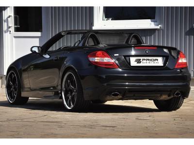 Mercedes SLK R171 Bara Spate P1