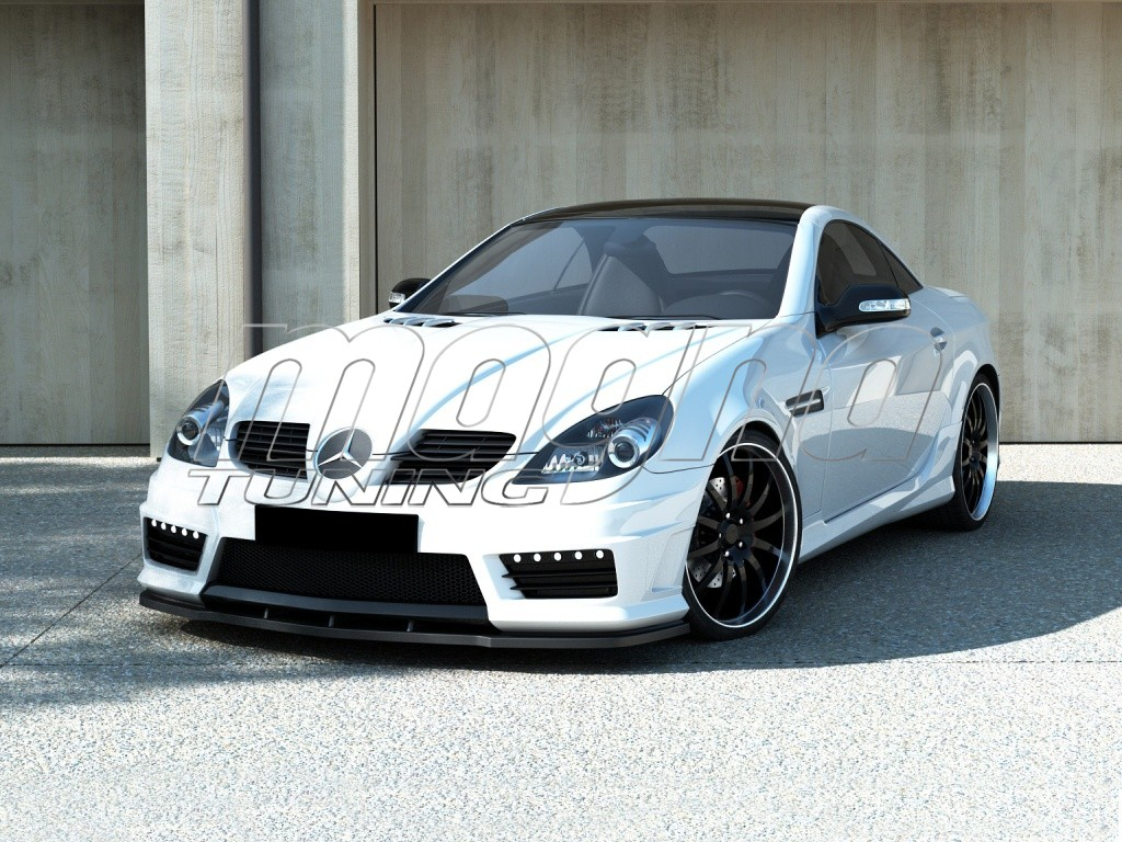 mercedes slk r171 r172 amg look front bumper. Black Bedroom Furniture Sets. Home Design Ideas