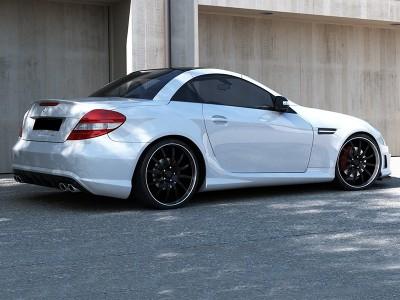 Mercedes SLK R171 R172-AMG-Look Heckstossstange