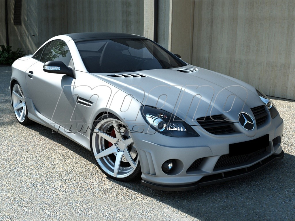 Mercedes slk r171 w204 amg look body kit for Mercedes benz slk accessories