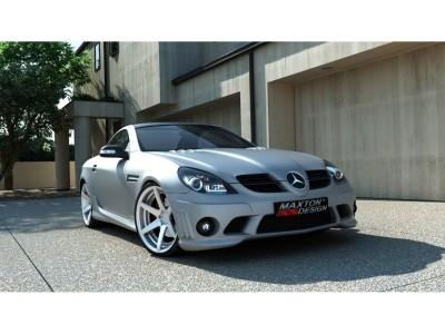 Mercedes SLK R171 W204-AMG-Look Frontstossstange