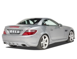 Mercedes SLK R172 Crono Rear Bumper Extension