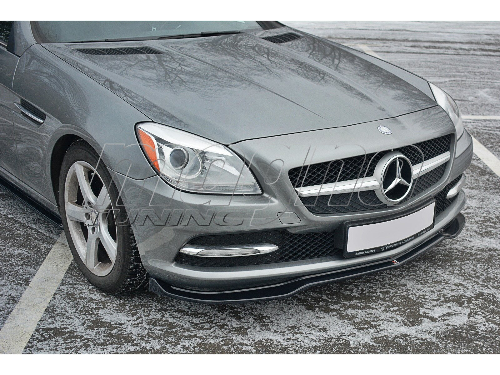 Mercedes SLK R172 Matrix Front Bumper Extension