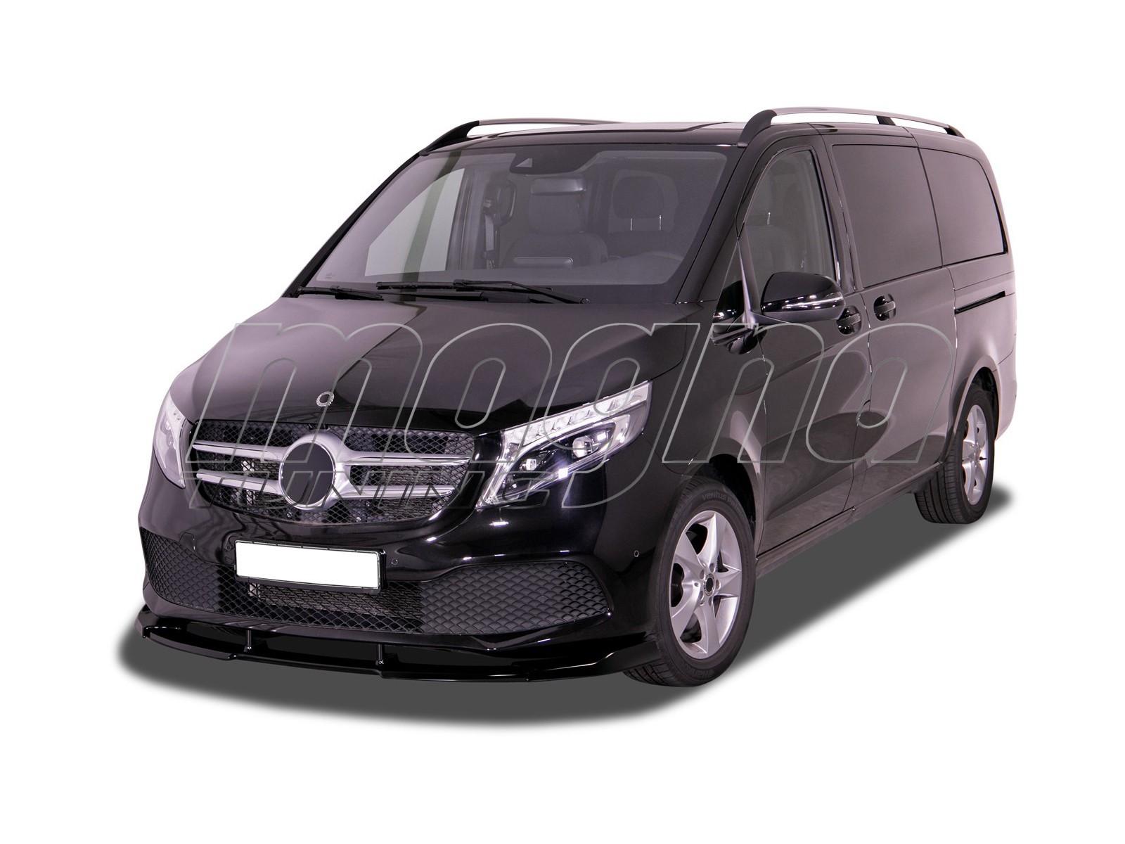 Mercedes V-Class Vito W447 Facelift V3 Front Bumper Extension