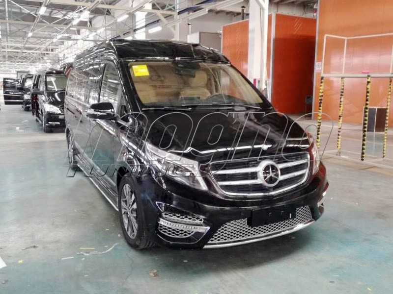 Mercedes V Class W447 Amg Look Body Kit