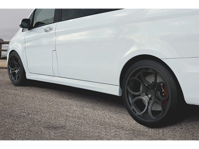 Mercedes V-Class W447 SX Side Skirts