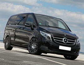 Mercedes V-Class W447 Trax2 Running Boards