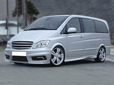 Mercedes Vito W639 Facelift Sector Front Bumper