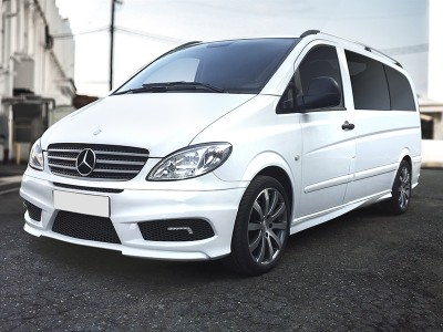 Mercedes Vito W639 Strider Side Skirts