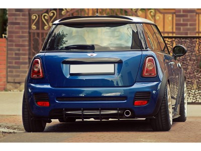 Mini Cooper 2 JCW Racer Rear Bumper Extension